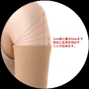 Grow 横編みオ-ダ-肩部分オプション